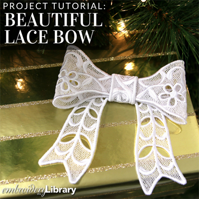 Beautiful Bow (Lace)