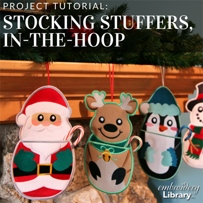 Stocking Stuffers, In-the-Hoop