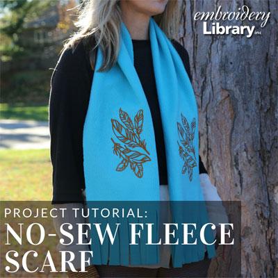 No-Sew Fleece Scarf