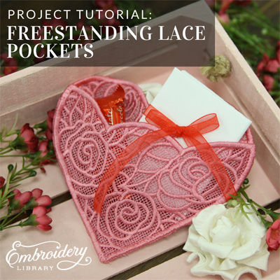 Freestanding Lace Pockets