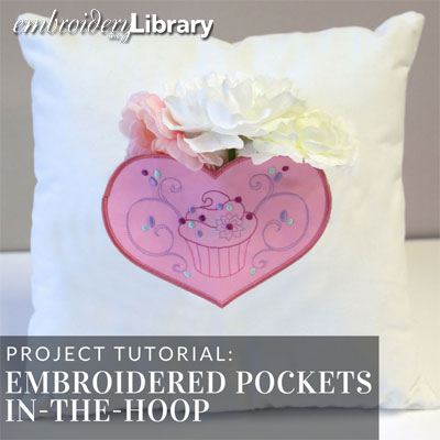 Embroidered Pockets, In-the-Hoop