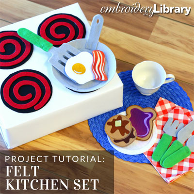 Felt Kitchen Set