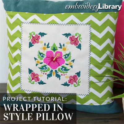 Wrapped In Style Pillow