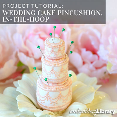 Wedding Cake (In-the-Hoop)