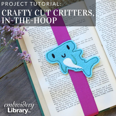 Crafty Cut Critters (In-the-Hoop)