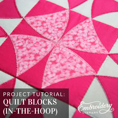 In-the-Hoop Quilt Blocks