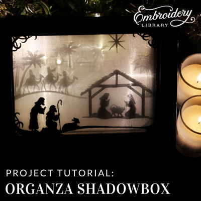 Organza Shadowbox
