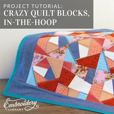 Crazy Quilt Blocks (In-the-Hoop)