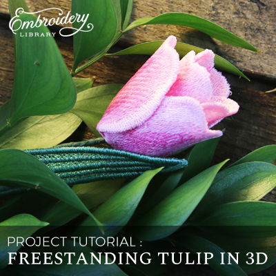 Freestanding Tulip in 3D