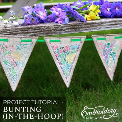 Bunting (In-the-Hoop)