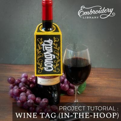 Wine Tag (In-the-Hoop)