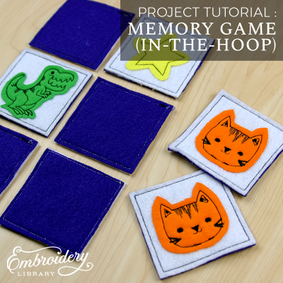 Memory Game (In-the-Hoop)