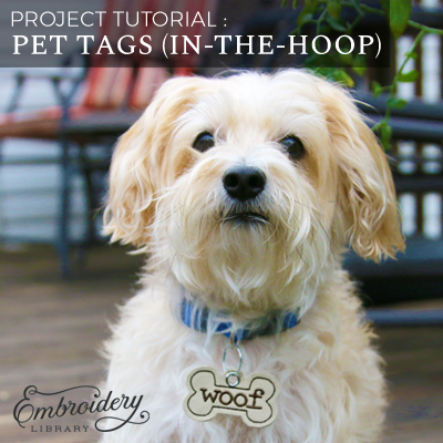 Pet Tags (In-the-Hoop)