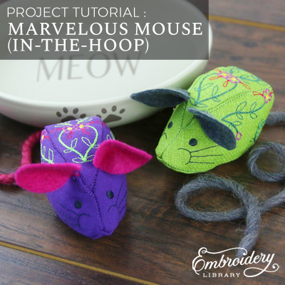Marvelous Mouse (In-the-Hoop)