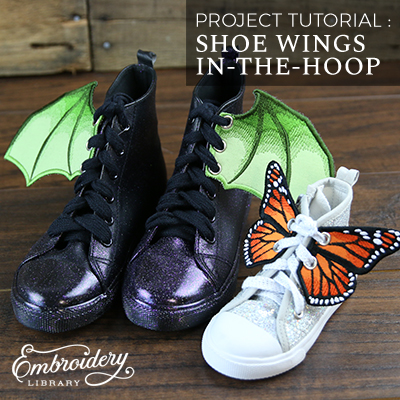 Shoe Wings (In-the-Hoop)