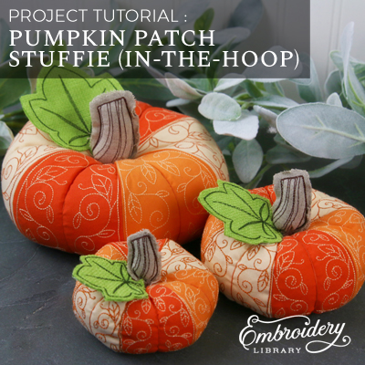 Pumpkin Patch Stuffie (In-the-Hoop)