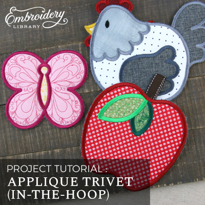Applique Trivet (In-the-Hoop)