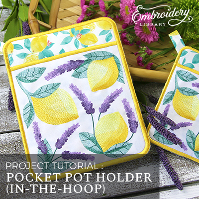 Pocket Pot Holder (In-the-Hoop)