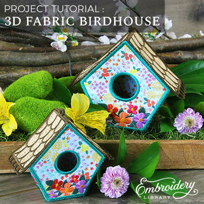 3D Fabric Birdhouse