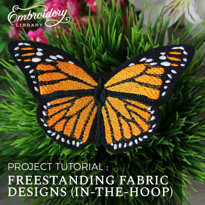 Freestanding Fabric Designs (In-the-Hoop)