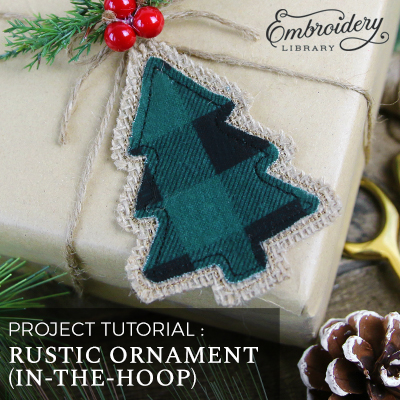 Rustic Ornament (In-the-Hoop)