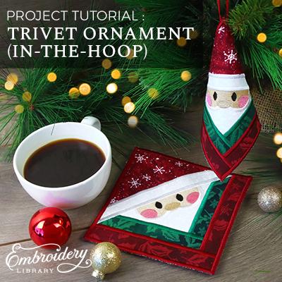 Trivet Ornament (In-the-Hoop)