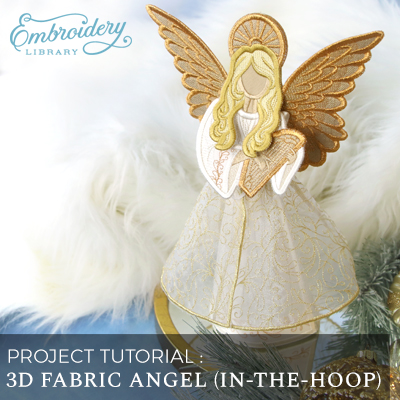 3D Fabric Angel (In-the-Hoop)