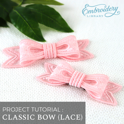 Classic Bow (Lace)