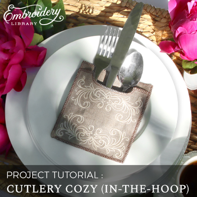 Cutlery Cozy (In-the-Hoop)