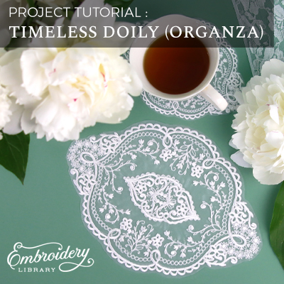 Timeless Doily (Organza)