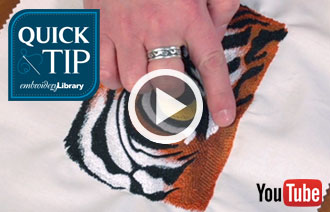 Free video with instructions on how to prevent puckering.