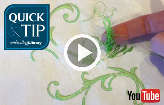 Free video with instructions on how to avoid thread nesting.
