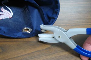how to set grommets without tool