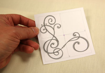 Free project instructions for creative uses for corner designs.