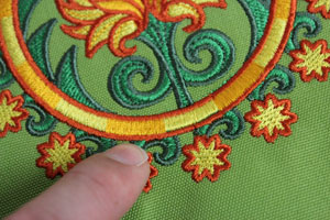 Kenny's Korner Fabrics 101: Embroidering on Outdoor Fabrics