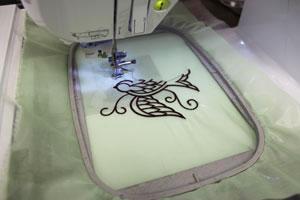 Kenny's Korner Fabrics 101: Embroidering on Chiffon