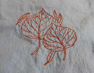Kenny's Korner Fabrics 101: Embroidering on Flannel