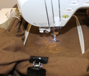 Kenny's Korner Fabrics 101: Embroidering on Chamois