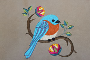 Tips and tricks for getting great results when embroidering on moleskin