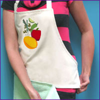 Create A Tea Towel Tote Using Machine Embroidery Designs With These Free  Project Instructions.