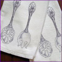 Read The Fabrics 101 Article To Find Out How To Embroider On Tea Towels And  Flour Gallery