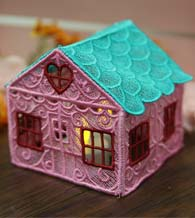 Free Project Instructions - 3D Freestanding Lace House