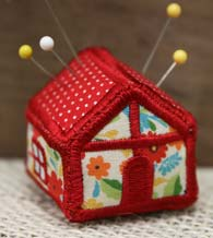 Free Project Instructions - House Pincushion, In-the-Hoop