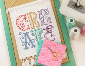 Embroidery Library - Craft Room Refresh