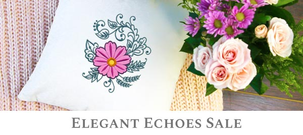 Embroidery Library - Elegant Echoes Sale