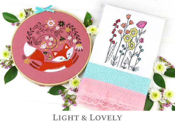 Embroidery Library - Light & Lovely