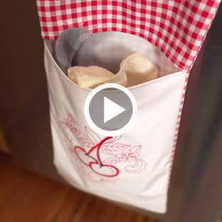 Embroidery Library - Video: Stitching for the Kitchen