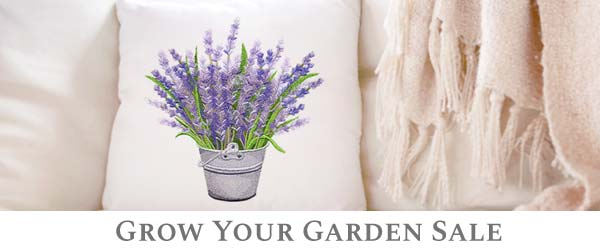 Embroidery Library - Grow Your Garden Sale