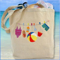 Learn how to make your own basic tote bag embellished with machine embroidery designs in this free project!