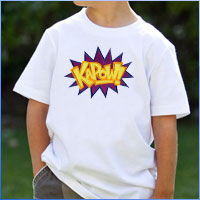 Stitch a T-shirt for little ones using machine embroidery designs with this free tutorial.
